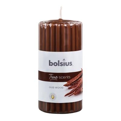 Candela profumata BOLSIUS essenza legno di oud  Ø 12 cm H 12 cm