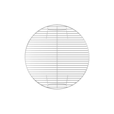 Griglia in acciaio cromato Ø 54 cm NATERIAL