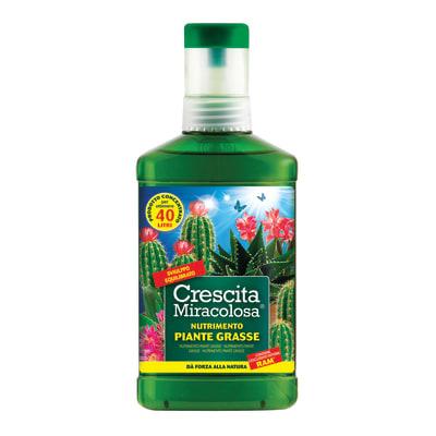Concime per piante grasse liquido CRESCITA MIRACOLOSA PIANTE GRASSE LIQUIDO