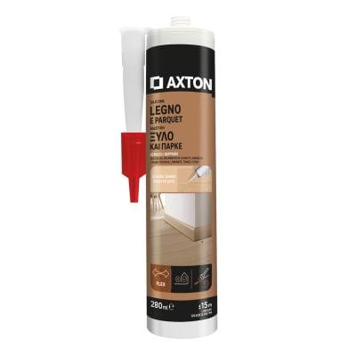 Silicone sigillante AXTON Legno e parquet noce chiaro 280 ml