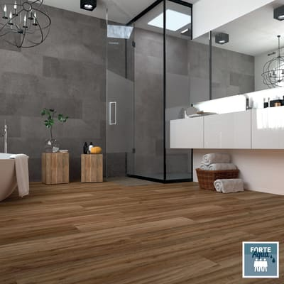 Pavimento laminato H2O Honey Sp 8 mm giallo / dorato