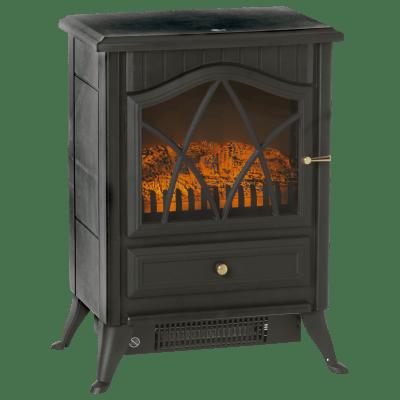 Caminetto elettrico EQUATION 1850 W, nero