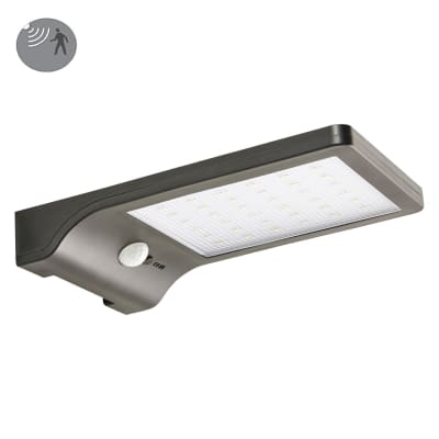 Applique Cory LED integrato in plastica nero 1.2W 150LM IP44 INSPIRE