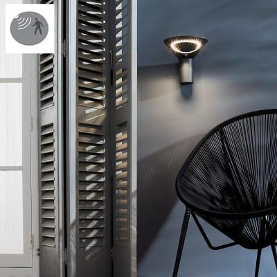 Applique Solana LED integrato in plastica 3.2W 315LM IP44 INSPIRE