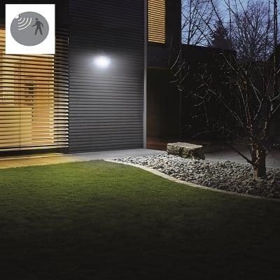 Proiettore solare C/SENS LED LED integrato bianco 15W 150LM IP44 STEINEL