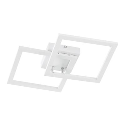 Plafoniera Elle LED integrato bianco, in metallo, 2  luci WOFI