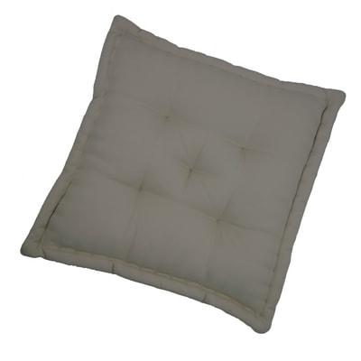 Cuscino da pavimento INSPIRE Elema tortora 60x60 cm Ø 0 cm