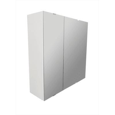 Specchio contenitore senza luce Essential L 58 x P 13.2 x H 58 cm Sensea