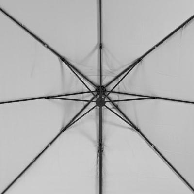 Telo di ricambio ombrellone aura NATERIAL colore bianco 286 x 286 cm