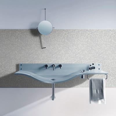 Mosaico Almond10 H 31.8 x L 31.8 cm grigio/bianco