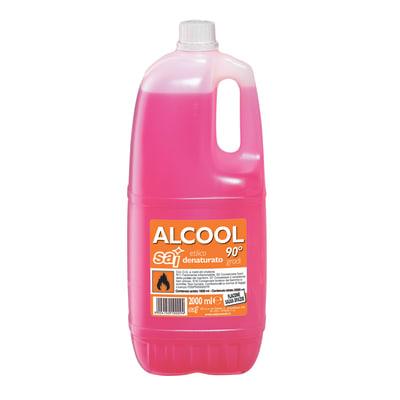 Alcool denaturato SAI 2 l