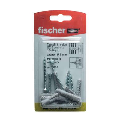 Tassello universale FISCHER UX L 35 mm x Ø 10 mm 10 pezzi
