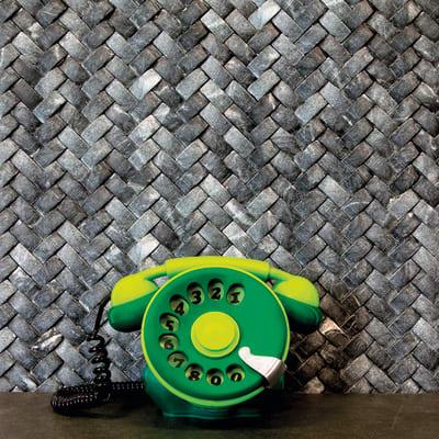 Mosaico H 28.3 x L 28.3 cm nero