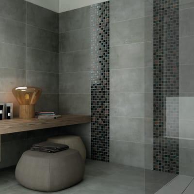 Mosaico H 31.5 x L 31.5 cm marrone/verde