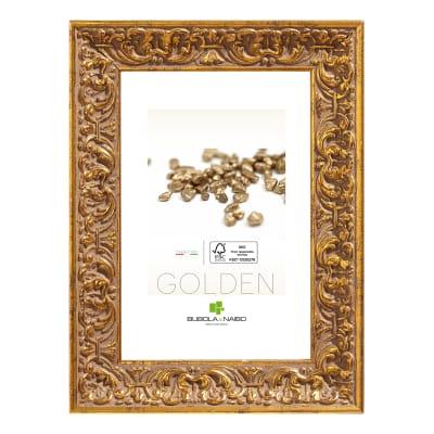 Cornice Amber oro per foto da 18x24 cm