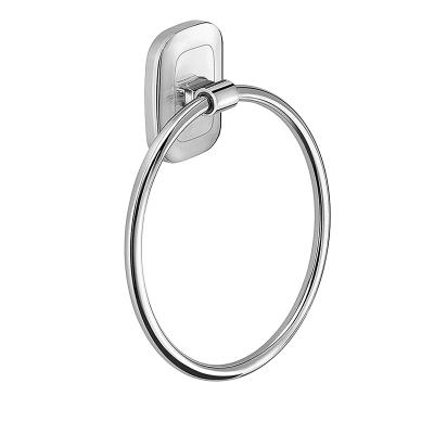 Porta salviette ad anello cromo lucido