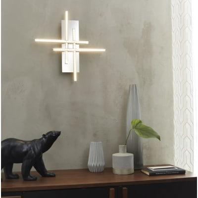 Applique moderno Otok cromo, in metallo, 26.5x26.5 cm, 3 luci INSPIRE