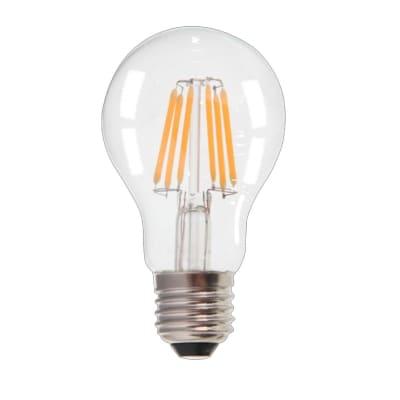 Lampadina LED, E27, Goccia, Trasparente, Luce naturale, 8W=1055LM (equiv 37 W), 300°