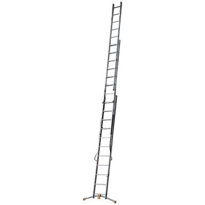 Scala a sfilo HAILO in alluminio 3x11 gradini per lavori fino a 7.6 m