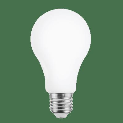 Lampadina LED filamento, E27, Goccia, Opaco, Luce calda, 16W=2452LM (equiv 150 W), 360° , LEXMAN