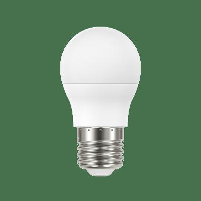 Lampadina LED, E27, Sferico, Smerigliato, Luce calda, 8W=806LM (equiv 60 W), 220° , LEXMAN