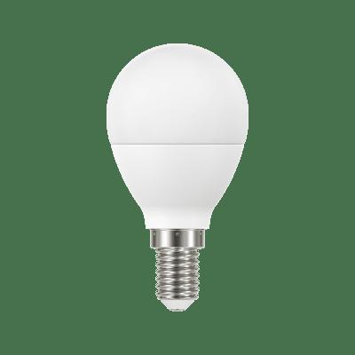 Lampadina LED, E14, Sferico, Smerigliato, Luce naturale, 8W=806LM (equiv 60 W), 220° , LEXMAN