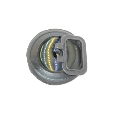 Tappo con maniglia in acciaio Ø 47 mm