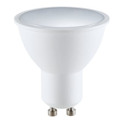 Lampadina smart lighting LED, GU10, Faretto, Opaco, Luce CCT e RGB, 5.5W=400LM (equiv 5,5 W), 120°