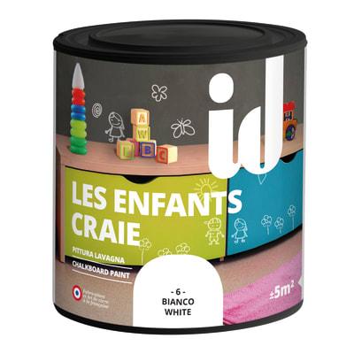 Pittura lavagna LES DECORATIVES bianco 0.5 L