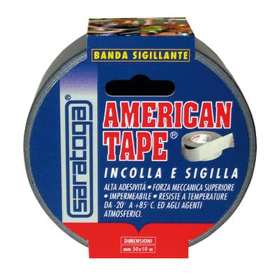 Nastro adesivo HENKEL American Tape 10 m x 50 mm 50 mm x 10 m grigio