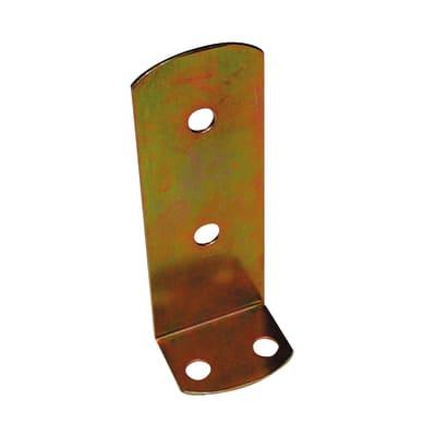 Supporto per palo Squadra in acciaio L 9x H 22