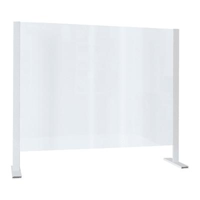 Schermo di protezione polistirene trasparente 85 cm x 70 cm, Sp 3 mm