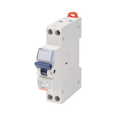 Interruttore magnetotermico GEWISS GEWGW90026 1P+N 10A C 1 modulo 230V