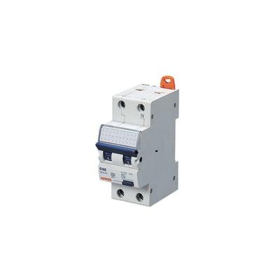 Interruttore magnetotermico GEWISS GW94007 16A C 2 moduli 230V