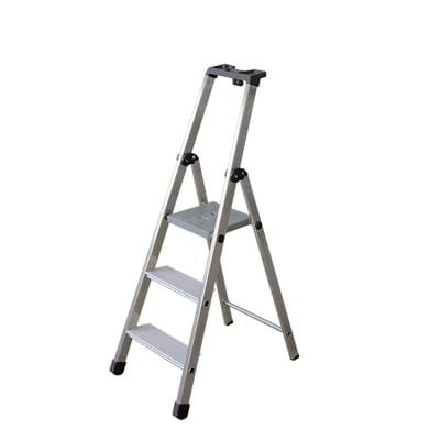 Scala doppia FACAL in alluminio 3 gradini per lavori fino a 2.55 m