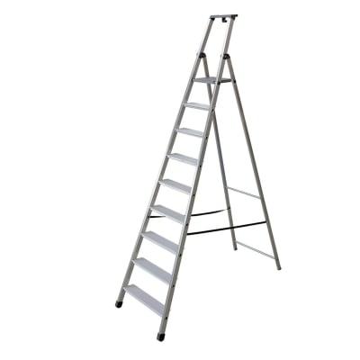 Scala FACAL in alluminio 9 gradini per lavori fino a 3.95 m