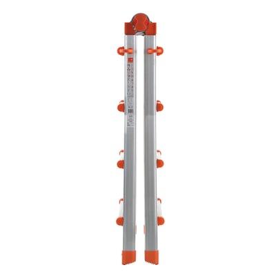 Scala telescopica GIERRE Peppina in alluminio per lavori fino a 4.7 m