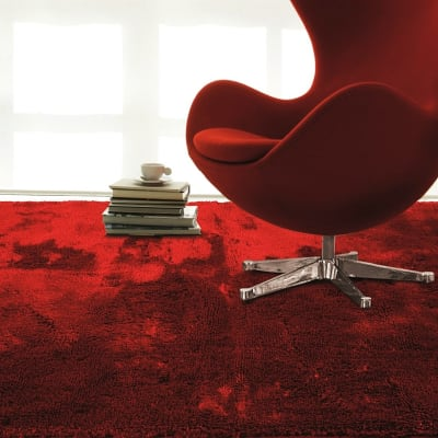 Tappeto Shaggy coccole , rosso, 120x170 cm