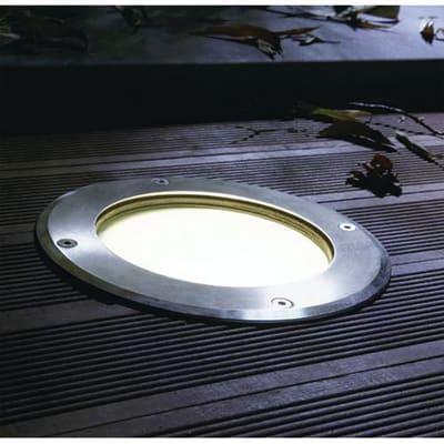 Faretto da incasso da esterno No Boston 22.5 x 18 cm  diam. 18.4 cm INSPIRE