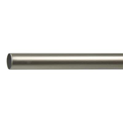 Bastone per tenda Jolly in alluminio Ø13mm cromo satinato 100 cm