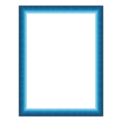 Cornice INSPIRE Bicolor azzurro<multisep/>blu per foto da 18x24 cm
