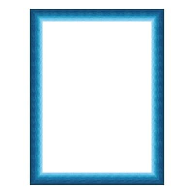 Cornice INSPIRE Bicolor azzurro per foto da 13x18 cm