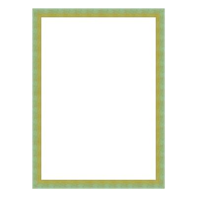 Cornice INSPIRE BICOLOR verde / giallo per foto da 13X18 cm