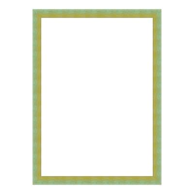 Cornice INSPIRE Bicolor verde / giallo per foto da 10X15 cm