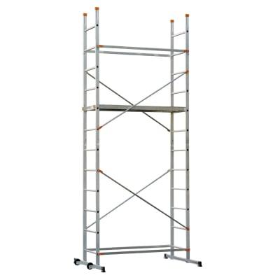 Trabattello DEXTER Easy Clip 4 in alluminio per lavori fino a 3.9 m