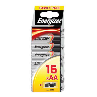Pila LR06 AA 1.5 V ENERGIZER Family pack 16 batterie