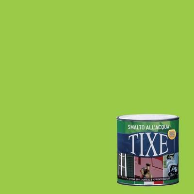Smalto TIXE base acqua verde 0,125 L