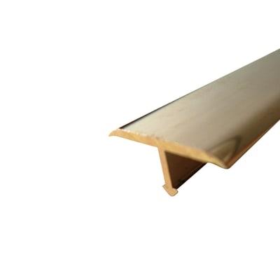 Profilo Procover ottone 1.4 x 90 cm