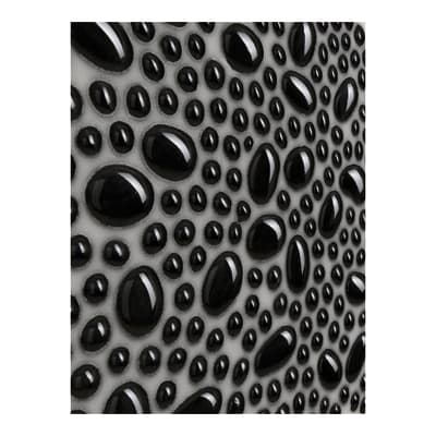 Mosaico Pearl H 30 x L 30 cm nero