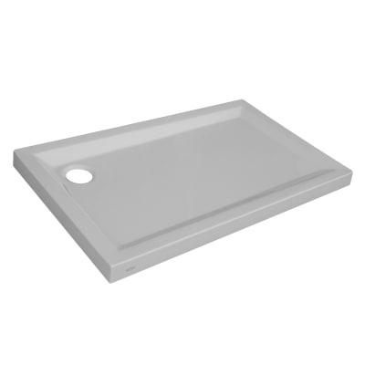 Piatto doccia acrilico Houston 70 x 120 cm bianco